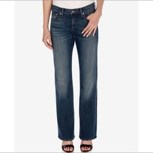 Lucky Brand Easy Rider Jeans Sz6 Dark Wash